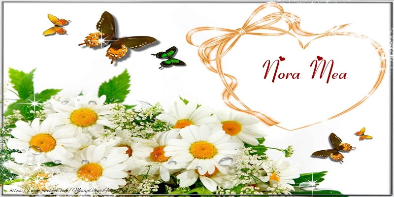 Felicitari de dragoste pentru Nora - I love you nora mea!