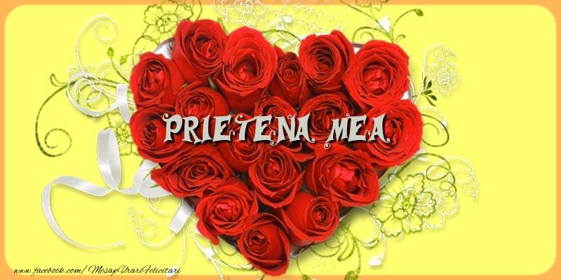 Felicitari de dragoste pentru Prietena - Prietena mea