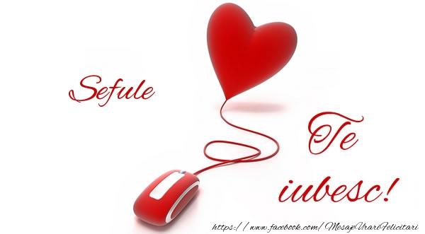 Felicitari de dragoste pentru Sef - Sefule te iubesc!