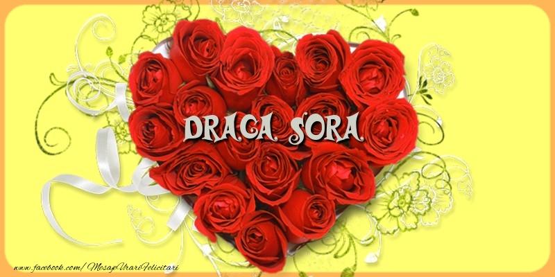 Felicitari de dragoste pentru Sora - Draga sora