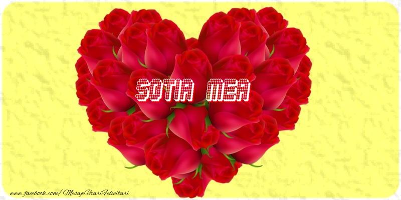 Felicitari de dragoste pentru Sotie - Sotia mea