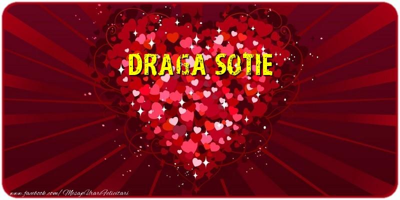 Felicitari de dragoste pentru Sotie - Draga sotie