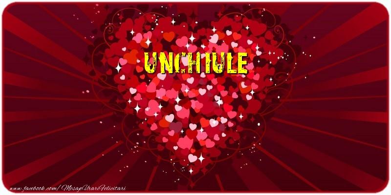 Felicitari de dragoste pentru Unchi - Unchiule