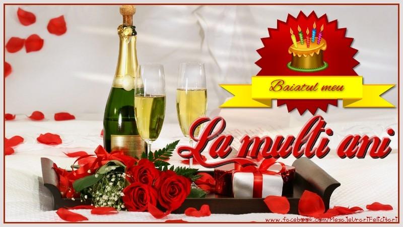 Felicitari de la multi ani pentru Baiat - La multi ani, baiatul meu