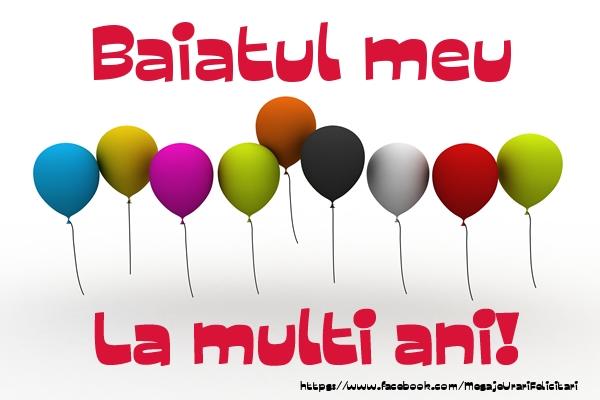 Felicitari de la multi ani pentru Baiat - Fiul meu La multi ani!