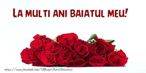 Felicitari de la multi ani pentru Baiat - La multi ani fiul meu!