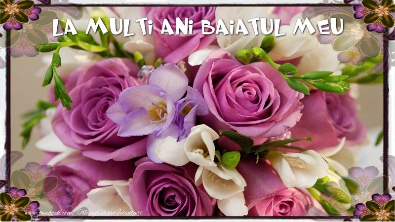 Felicitari de la multi ani pentru Baiat - La multi ani fiul meu