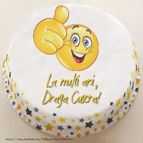 Felicitari de la multi ani pentru Cuscra - La multi ani, draga cuscra!