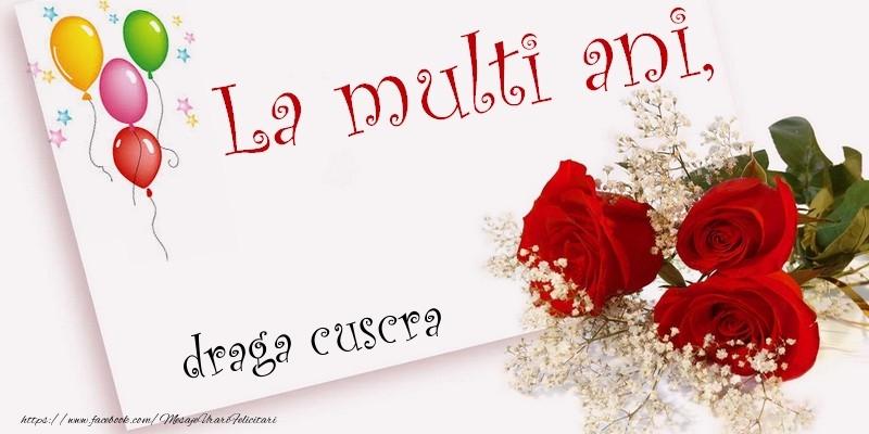 Felicitari de la multi ani pentru Cuscra - La multi ani, draga cuscra