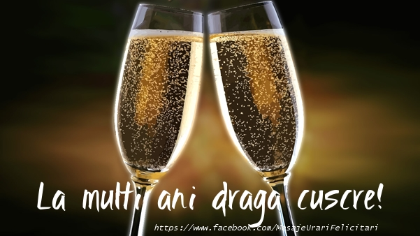 Felicitari de la multi ani pentru Cuscru - La multi ani draga cuscre!