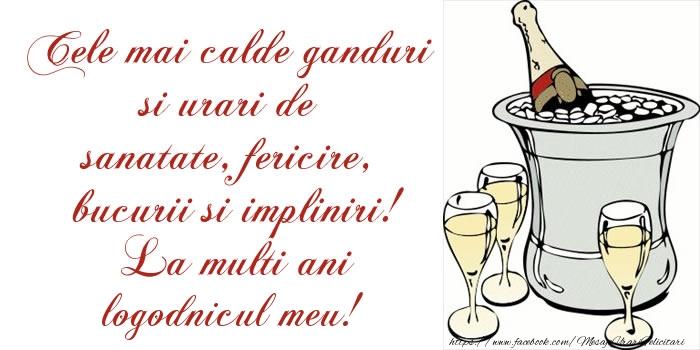 Felicitari de la multi ani pentru Logodnic - Cele mai calde ganduri si urari de sanatate, fericire, bucurii si impliniri! La multi ani logodnicul meu!