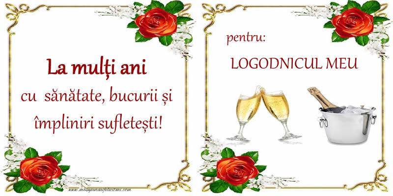 Felicitari de la multi ani pentru Logodnic - La multi ani cu sanatate, bucurii si impliniri sufletesti! pentru: logodnicul meu