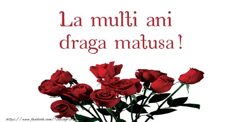 Felicitari de la multi ani pentru Matusa - La multi ani draga matusa!