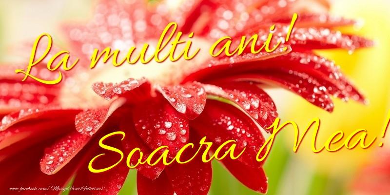 Felicitari de la multi ani pentru Soacra - La multi ani! soacra mea