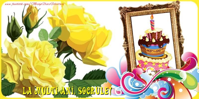 Felicitari de la multi ani pentru Socru - La multi ani, socrule