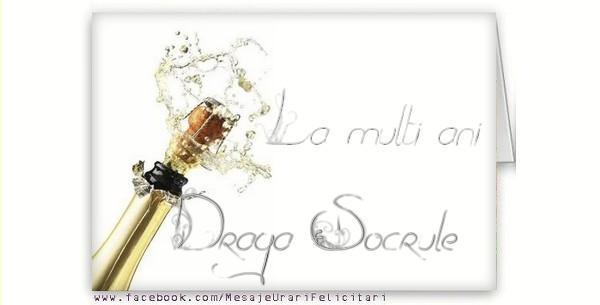 Felicitari de la multi ani pentru Socru - La multi ani, draga socrule