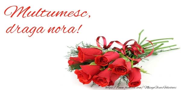 Felicitari de multumire pentru Nora - Multumesc, draga nora!