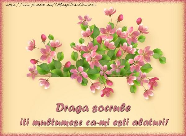 Felicitari de multumire pentru Socru - Draga socrule, iti multumesc ca-mi esti alaturi!