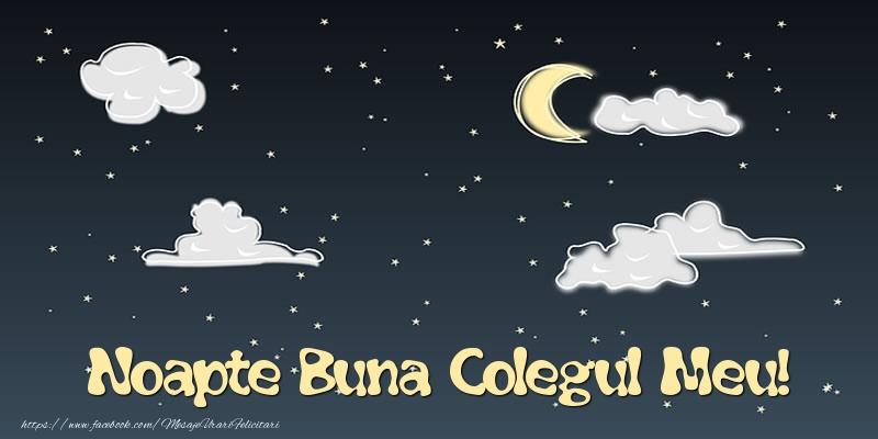 Felicitari de noapte buna pentru Coleg - Noapte Buna colegul meu!