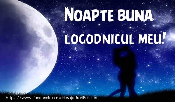Felicitari de noapte buna pentru Logodnic - Noapte buna logodnicul meu!