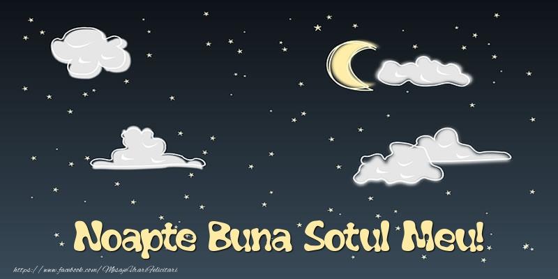 Felicitari de noapte buna pentru Sot - Noapte Buna sotul meu!