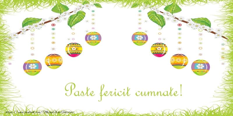 Felicitari de Paste pentru Cumnat - Paste Fericit cumnate!