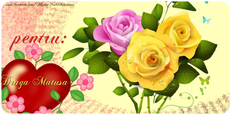 Felicitari de prietenie pentru Matusa - pentru: draga matusa