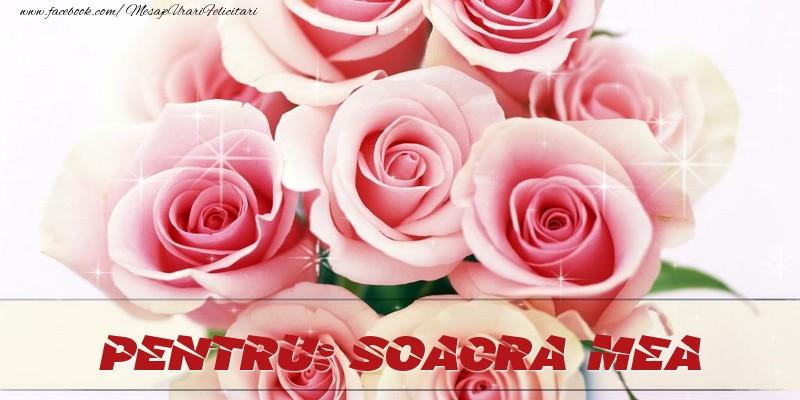 Felicitari de prietenie pentru Soacra - Pentru soacra mea