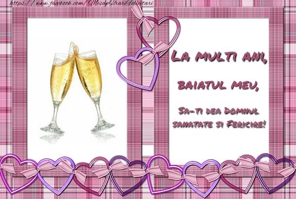 Felicitari de zi de nastere pentru Baiat - La multi ani, baiatul meu, sa-ti dea Domnul sanatate si fericire!