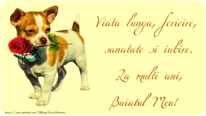Felicitari de zi de nastere pentru Baiat - Viata lunga, fericire, sanatate si iubire. La multi ani, baiatul meu