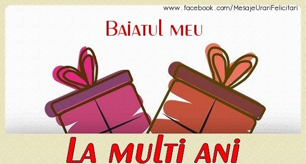 Felicitari de zi de nastere pentru Baiat - Baiatul meu La multi ani