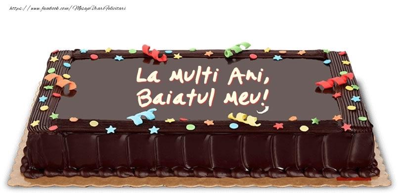 Felicitari de zi de nastere pentru Baiat - Tort de zi de nastere pentru baiatul meu!