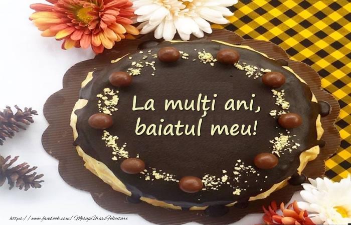 Felicitari de zi de nastere pentru Baiat - La mulți ani, baiatul meu! Tort