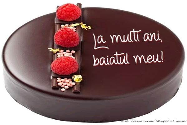Felicitari de zi de nastere pentru Baiat - La multi ani, baiatul meu! - Tort