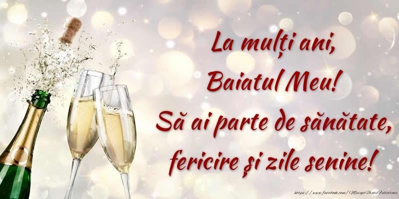 Felicitari de zi de nastere pentru Baiat - La mulți ani, baiatul meu! Să ai parte de sănătate, fericire și zile senine!
