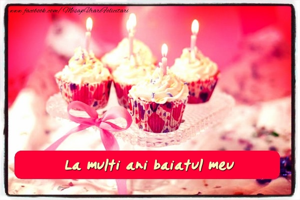 Felicitari de zi de nastere pentru Baiat - La multi ani fiul meu