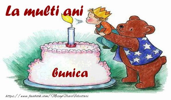 Felicitari de zi de nastere pentru Bunica - La multi ani bunica