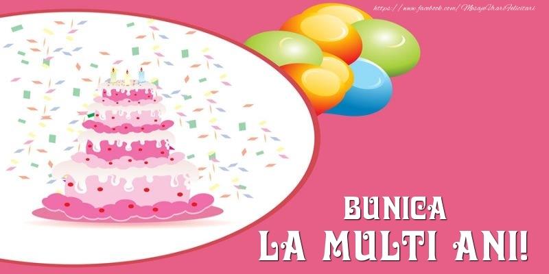 Felicitari de zi de nastere pentru Bunica - Tort pentru bunica La multi ani!