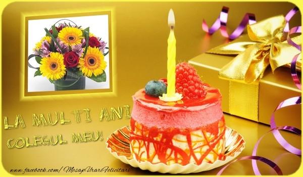 Felicitari de zi de nastere pentru Coleg - La multi ani colegul meu