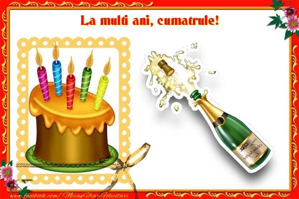 Felicitari de zi de nastere pentru Cumatru - La multi ani, cumatrule!