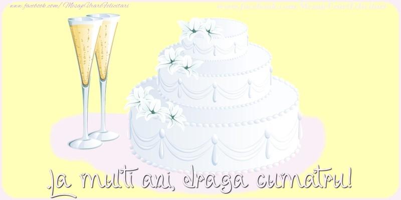 Felicitari de zi de nastere pentru Cumatru - La multi ani, draga cumatru!