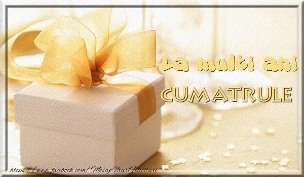 Felicitari de zi de nastere pentru Cumatru - La multi ani cumatrule