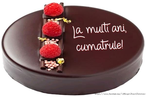 Felicitari de zi de nastere pentru Cumatru - La multi ani, cumatrule! - Tort