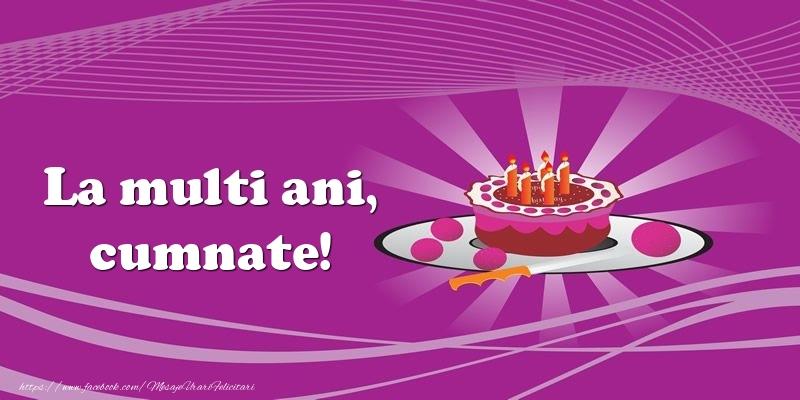 Felicitari de zi de nastere pentru Cumnat - La multi ani, cumnate! Tort