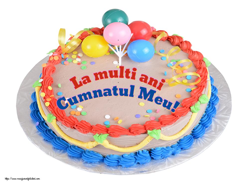 Felicitari de zi de nastere pentru Cumnat - La multi ani cumnatul meu!