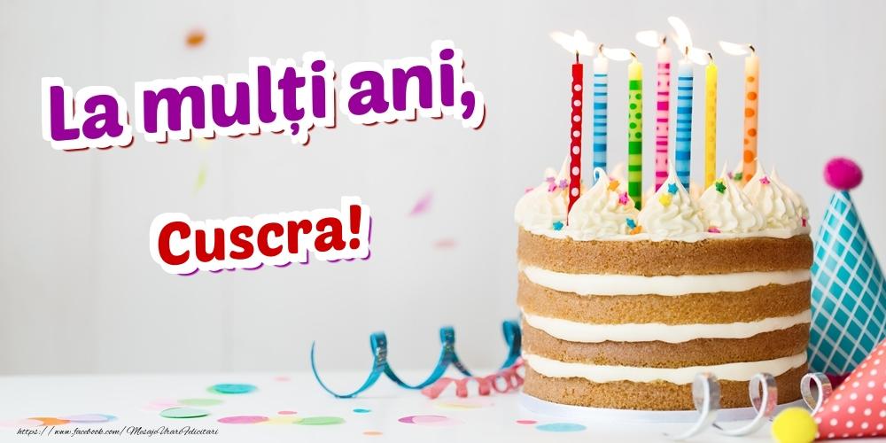 Felicitari de zi de nastere pentru Cuscra - La mulți ani, cuscra