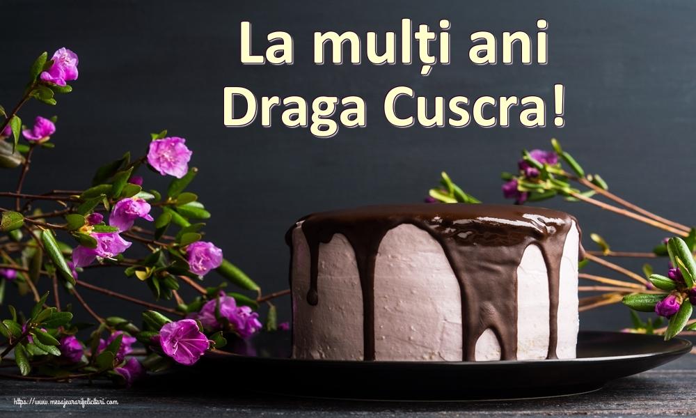 Felicitari de zi de nastere pentru Cuscra - La mulți ani draga cuscra!