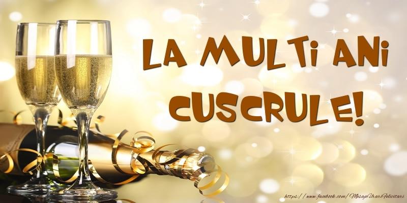 Felicitari de zi de nastere pentru Cuscru - Sampanie - La multi ani, cuscrule!
