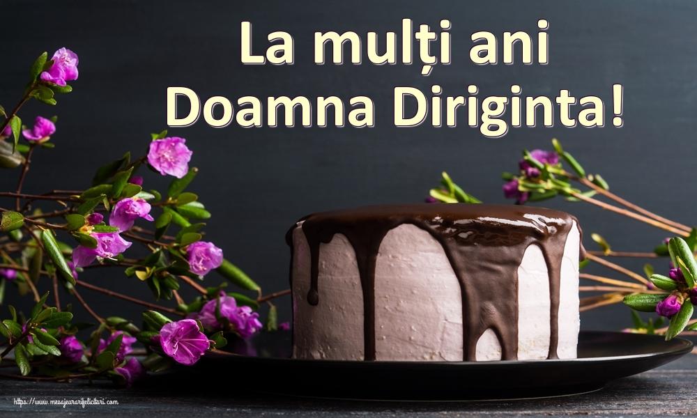 Felicitari de zi de nastere pentru Diriginta - La mulți ani doamna diriginta!