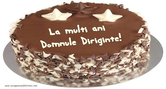 Felicitari de zi de nastere pentru Diriginte - Tort La multi ani domnule diriginte!